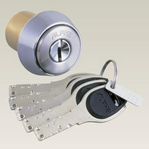 ALPHA FBロック、鍵、シリンダー構造